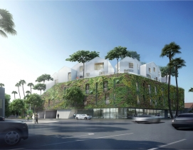 MAD Architects, Ma Yansong, Beverly Hills, 8600 Wilshire, Multifamily