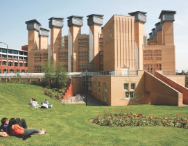 Coventry Universitys Lanchester Library was designed by U.K. firm Alan Short &