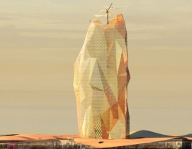 Architects propose sustainable 'vertical city' in Sahara