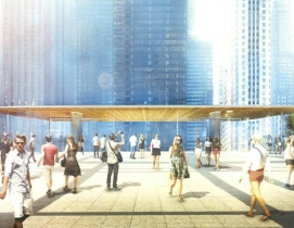 Foster + Partners designs Apple Store on Chicago River