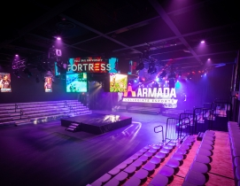FUll Sail University's Fortress eSports arena
