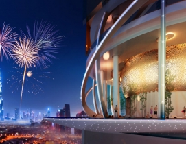The Rosemont Five Star Hotel & Residences will have rainforest-like landscape elements.  ZAS Group