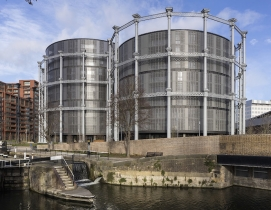 The gasholders London
