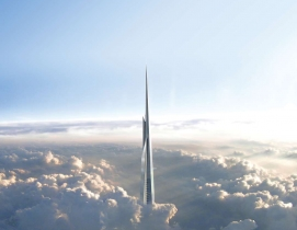 Kingdom Tower. Image courtesy of Adrian Smith + Gordon Gill.