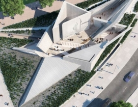 Renderings: courtesy the Department of Canadian Heritage