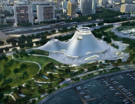 Ma Yansong and Jeanne Gang revise Chicago lakefront Lucas Museum