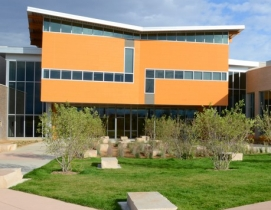The design for Red Hawk Elementary School stems from the desire to create a vibr