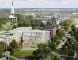 School of Public Policy aerial UMD campus