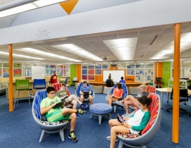 top 140 K-12 school sector architecture firms, 2019 bd+c giants 300 report, Hilliard Innovative Learning Hub 2