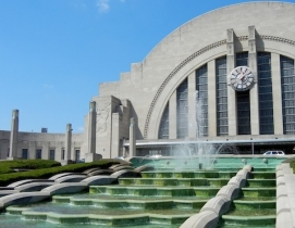 Union Terminal, Cincinnati. Photo: Dacoslett via Wikimedia Commons