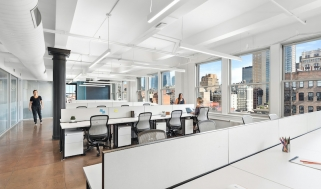Knotel's Boston location. Knotel, which provides flexible workplace solutions, bagged the biggest deal with ConTech investors in 2019