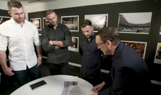 John Rhodes, a director of HOK's Sports + Recreation + Entertainment practice, met with Jamie Roberts (Wales), Tim Visser (Scotland), James Horwill (Australia) and Danny Care (England) to capture their ideas, both as players and fans.