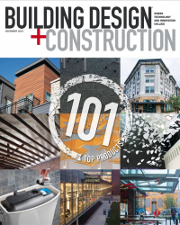 December 2019 Building Design+Construction 101 Top Products for 2019