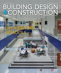 March 2015 issue of Building Design+Construction magazine