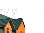 Comfort and energy efficiency with cool metal roofs