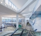 LaGuardia's Terminal B passenger arrivals and departures common-use space