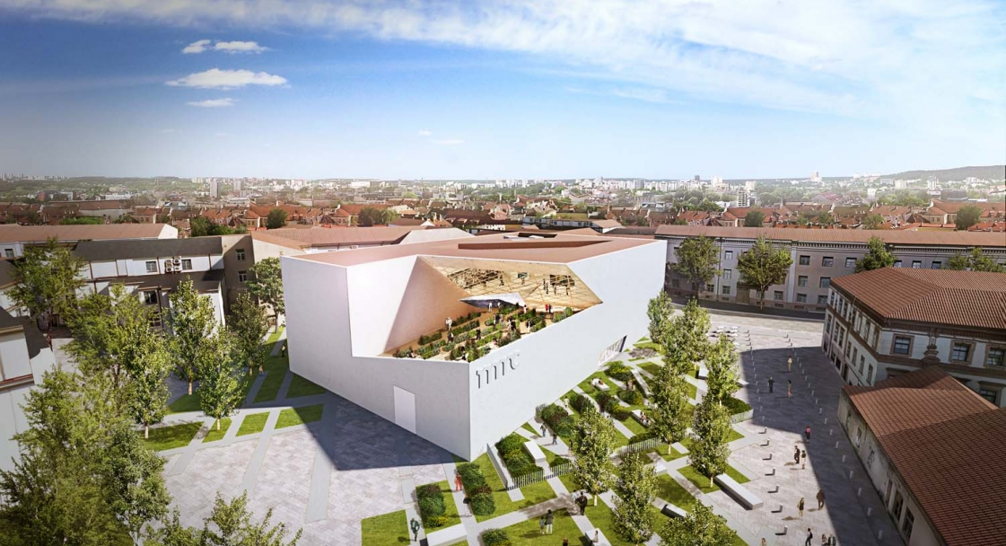 Daniel Libeskind unveils design for new Lithuanian modern art museum