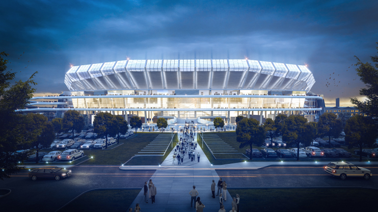 Proposed stadium for NFL's St. Louis Rams offers more than just football